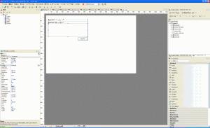 RadPHPの操作画面
